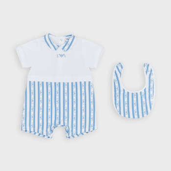 textil Dreng Buksedragter / Overalls Emporio Armani Adam Blå