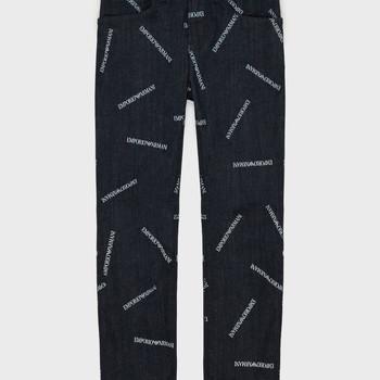 textil Dreng Lige jeans Emporio Armani Adil Blå