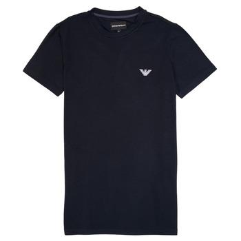 textil Dreng T-shirts m. korte ærmer Emporio Armani Benoit Marineblå