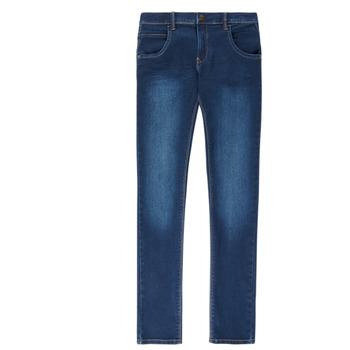 textil Dreng Smalle jeans Name it NITTAX Blå