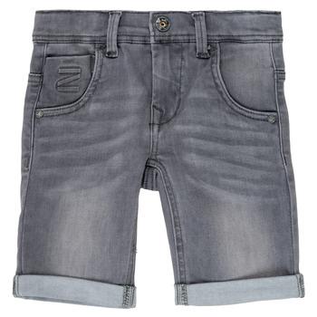 textil Dreng Shorts Name it NKMTHEO Grå