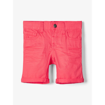 textil Dreng Shorts Name it NMMSOFUS TWIISKA Rød