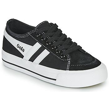 Sko Børn Lave sneakers Gola QUOTA II Sort / Hvid