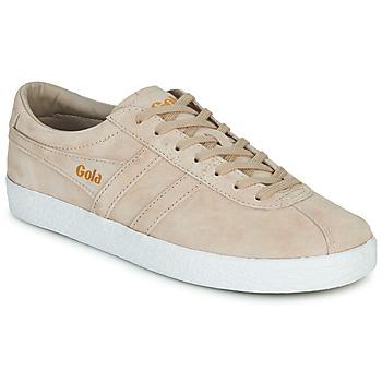 Sko Dame Lave sneakers Gola TRAINER SUEDE Pink / Hvid