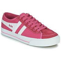 Sko Dame Lave sneakers Gola QUOTA II Pink / Hvid