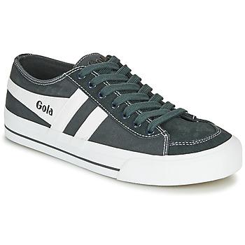 Sko Lave sneakers Gola QUOTA II Grafit / Hvid
