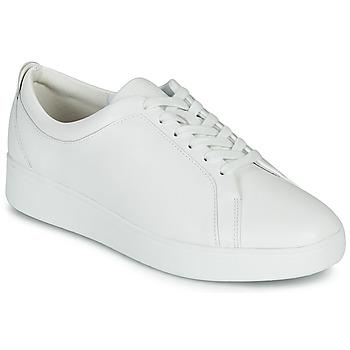 Sko Dame Lave sneakers FitFlop RALLY SNEAKERS Hvid