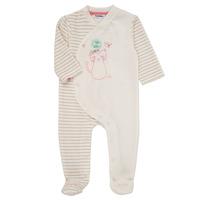 textil Pige Pyjamas / Natskjorte Noukie's LEO Pink