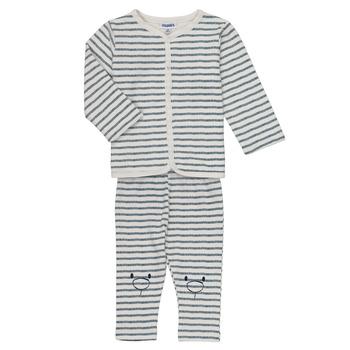 textil Dreng Sæt Noukie's KAIS Hvid