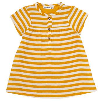 textil Pige Korte kjoler Noukie's YOUNES Gul