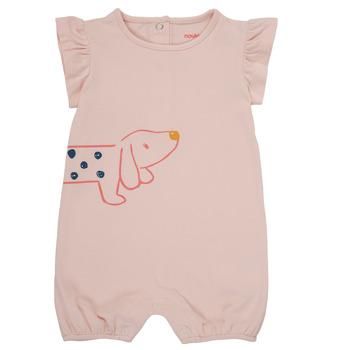 textil Pige Buksedragter / Overalls Noukie's ISAAC Pink