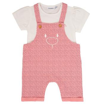 textil Pige Sæt Noukie's MINO Pink