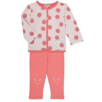 textil Pige Sæt Noukie's OSCAR Pink