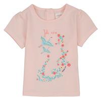 textil Pige T-shirts m. korte ærmer Carrément Beau NOLAN Pink