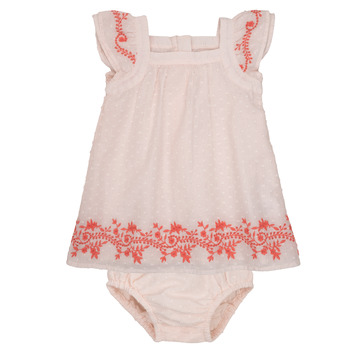 textil Pige Korte kjoler Carrément Beau SAMY Pink