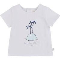 textil Dreng T-shirts m. korte ærmer Carrément Beau MARTINEZ Hvid