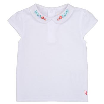 textil Pige T-shirts m. korte ærmer Carrément Beau JULIEN Hvid