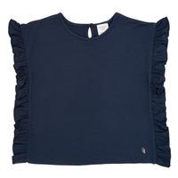 textil Pige T-shirts m. korte ærmer Carrément Beau KAMILLIA Blå