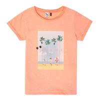 textil Pige T-shirts m. korte ærmer 3 Pommes LEA Orange
