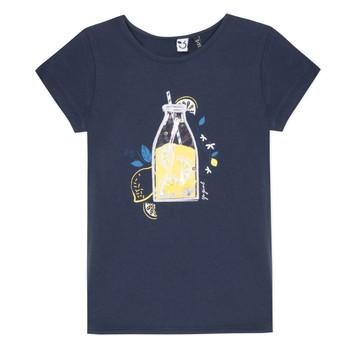 textil Pige T-shirts m. korte ærmer 3 Pommes LOGAN Blå