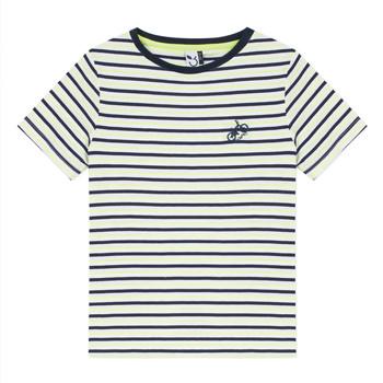 textil Dreng T-shirts m. korte ærmer 3 Pommes NORDINE Gul