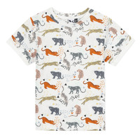 textil Dreng T-shirts m. korte ærmer 3 Pommes ARIANE Orange
