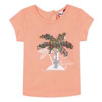 textil Pige T-shirts m. korte ærmer 3 Pommes EMMA Orange