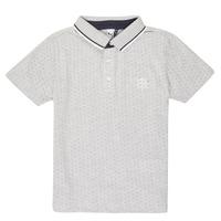 textil Dreng Polo-t-shirts m. korte ærmer 3 Pommes MADYSON Marineblå