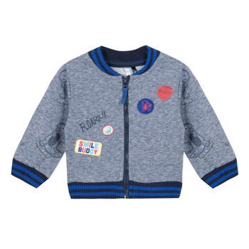 textil Dreng Sweatshirts 3 Pommes VALENTIN Blå