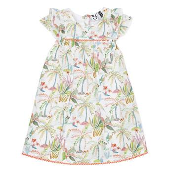 textil Pige Korte kjoler 3 Pommes SANDRINE Hvid