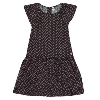 textil Pige Korte kjoler 3 Pommes JULIE Sort