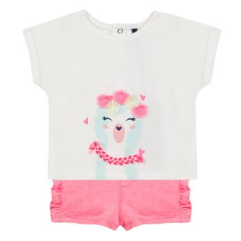 textil Pige Sæt 3 Pommes JULIEN Pink