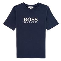 textil Dreng T-shirts m. korte ærmer BOSS MARIA Blå