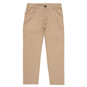 textil Dreng Chinos / Gulerodsbukser Timberland HECTOR Beige