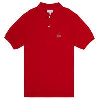 textil Dreng Polo-t-shirts m. korte ærmer Lacoste WILLS Rød