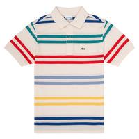 textil Dreng Polo-t-shirts m. korte ærmer Lacoste HENRI Flerfarvet