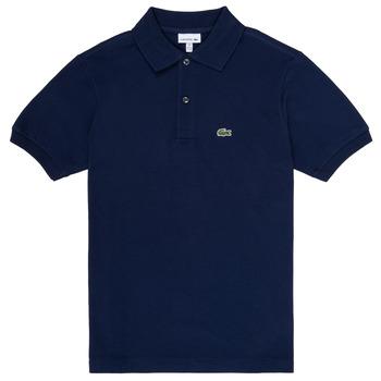 textil Dreng Polo-t-shirts m. korte ærmer Lacoste CYRINNE Marineblå