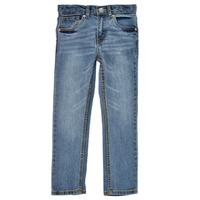 textil Dreng Jeans - skinny Levi's 511 SKINNY FIT Blå / Medium