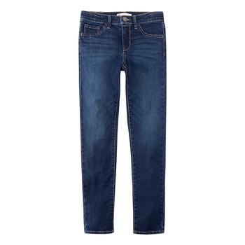 textil Dreng Jeans - skinny Levi's 510 SKINNY FIT Blå