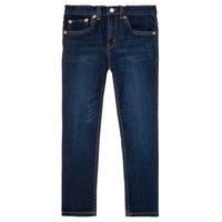 textil Dreng Smalle jeans Levi's 512 SLIM TAPER Blå