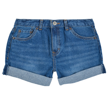 textil Pige Shorts Levi's GIRLFRIEND SHORTY SHORT Blå