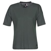 textil Dame T-shirts m. korte ærmer adidas Performance W MH 3S Tee Sort