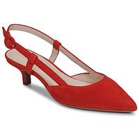 Sko Dame Højhælede sko Fericelli JOLOIE Rød
