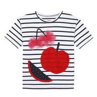 textil Pige T-shirts m. korte ærmer Catimini KUSY Hvid