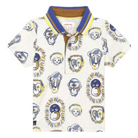 textil Dreng Polo-t-shirts m. korte ærmer Catimini ANAELE Beige