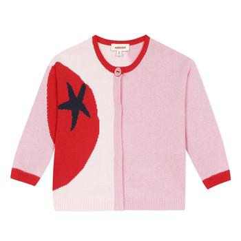 textil Pige Veste / Cardigans Catimini LIANA Pink