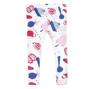 textil Pige Leggings Catimini LEONTINE Hvid