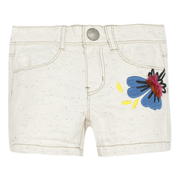 textil Pige Shorts Catimini CAPUCINE Beige