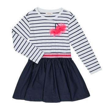 textil Pige Korte kjoler Catimini BASILE Hvid