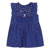 textil Pige Korte kjoler Catimini CHARLES Blå